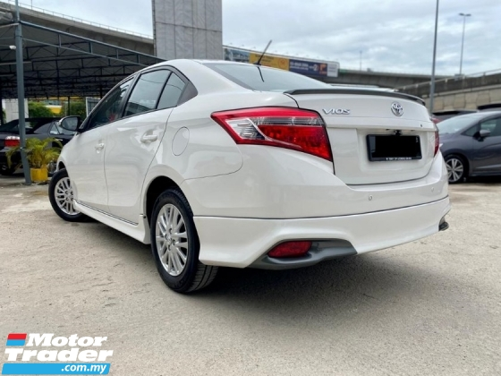 2014 TOYOTA VIOS 1.5 E 1 OWNER ANDROID PLAYER REVERSE CAMERA 1 OWN
