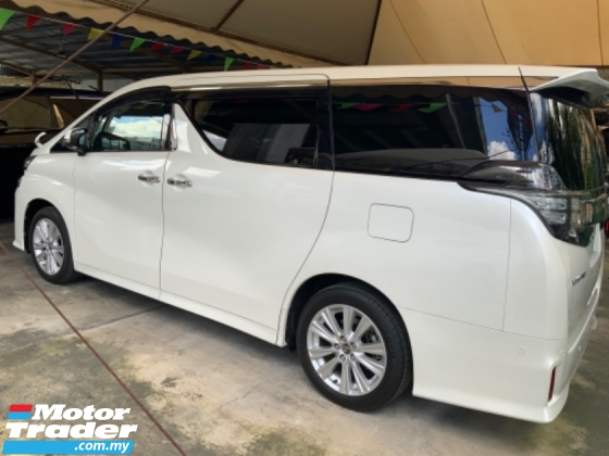 2016 TOYOTA VELLFIRE 2.5 Z JBL theatre system Sunroof Many unit Grade A car Free Gift 3 Years Warranty Unregistered