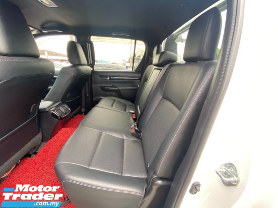 2019 TOYOTA HILUX 2.8 L-EDITION FACELIFT (A) FULL SERVICE RECORD **