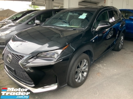 2016 LEXUS NX 200t F sport Panoramic roof precrash system high spec Grade A Free gift 3 years warranty Unregister