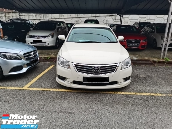 2009 TOYOTA CAMRY TOYOTA CAMRY 2.0 G SPEC (A) FACESLIT MODEL