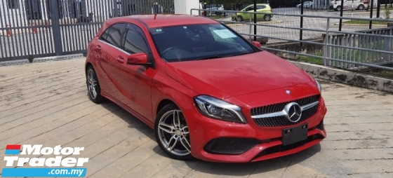 2017 MERCEDES-BENZ A-CLASS 2017 MERCEDES BENZ A180 AMG 1.6 TURBO UNREG JAPAN SPEC CAR SELLING PRICE ONLY RM 159,000.00