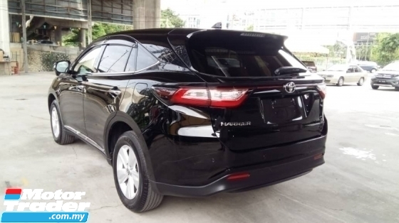 2018 TOYOTA HARRIER 2.0 New Facelift 360 Surrounding Camera Power Boot