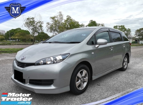 2012 TOYOTA WISH 1.8 G FACELIFT