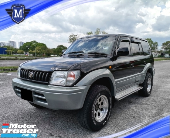 1999 TOYOTA PRADO 2.7 (M) 4X4 CASH DEAL ONLY