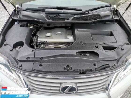 2013 LEXUS RX 270 (A) LOCAL SPEC / POWER BOOT