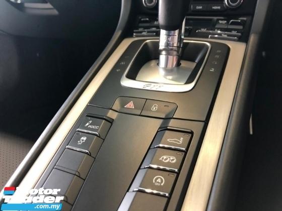 2016 PORSCHE 911 3.0 CARRERA S 991.2 Rear Axle Steering PDCC