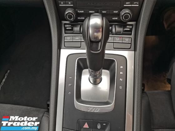 2018 PORSCHE CAYMAN 2018 Porsche CAYMAN 2.0 718 (A) UNREG