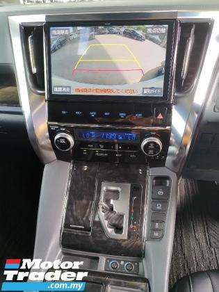 2019 TOYOTA ALPHARD 2.5 3 LED HEADLAMPS SUNROOF MODELISTA BODYKIT 360 SURROUND CAMERA  AUTO CRUISE FREE 2 YAERS WARRANTY