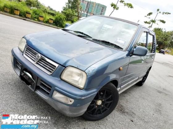 2002 PERODUA KANCIL 850 EX (M) JUST DRIVE