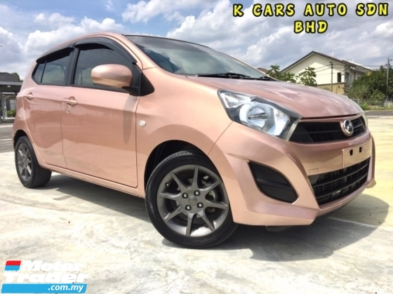 2017 PERODUA AXIA 1.0 G (A) Hatchback F.S.R UNDER WARRANTY