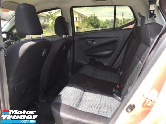 2017 PERODUA AXIA 1.0 G (A) Hatchback F.S.R UNDER WARRANTY