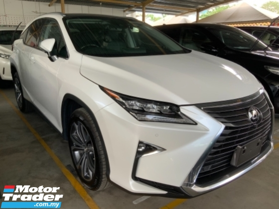 2017 LEXUS RX RX200t Luxury 3 LED panoramic roof power boot Surround camera Grade A Free Gift 3 Years warranty