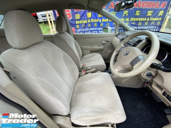 2011 NISSAN LATIO 1.6 (A) ALL PROBLEM CAN LOAN