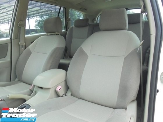 2012 TOYOTA INNOVA 2.0 G VVT-i Facelift TipTOP LikeNEW