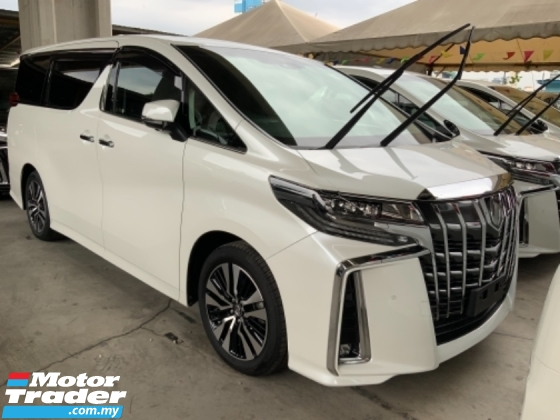2019 TOYOTA ALPHARD 2.5 SC Pilot seat Facelift 3 LED 4.5 Grade very nice condition 3 years warranty Unregistered