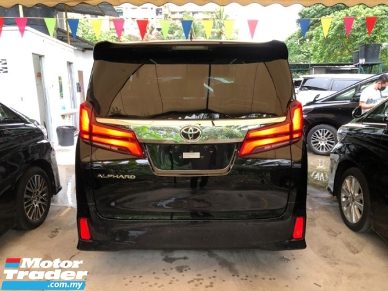 2019 TOYOTA ALPHARD 2.5 SC 3 LED FACELIFT NAPPA LEATHER SEAT PRE CRASH 2019 JAPAN UNREG FREE GMR WARRANTY