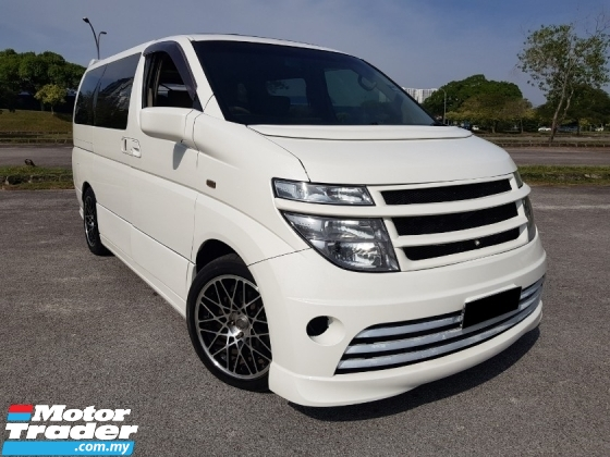 2002 NISSAN ELGRAND 350XL (A) CASH DEAL / SUNROOF / ROOF MONITOR