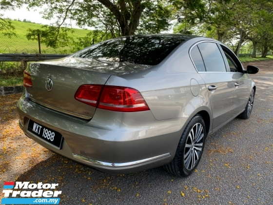 2013 VOLKSWAGEN PASSAT 1.8 (A) TSI Full Service Record 1 Owner Only