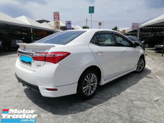 2014 TOYOTA COROLLA ALTIS 1.8 G FACELIFT (A) Full Leather, 5k Muka/All Loan