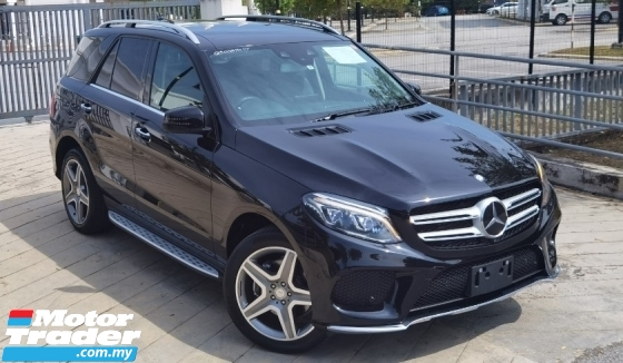 2017 MERCEDES-BENZ GLE 2017 MERCEDES GLE 350D 3.0 4MATIC 9SPEED AMG SPEC JAPAN UNREG CAR SELLING PRICE RM 299000.00 NEGO