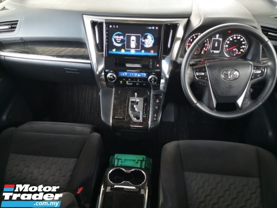 2016 TOYOTA VELLFIRE 2.5 Z A INC SST 3 Yrs Warranty 360 Cameras Power Boot Android Player Unreg