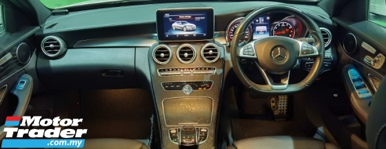 2015 MERCEDES-BENZ C-CLASS 2015 MERCEDES C200 2.0 AMG SPEC ORIGINAL FROM JAPAN UNREG CAR SELLING PRICE ( RM 185,000.00 NEGO )