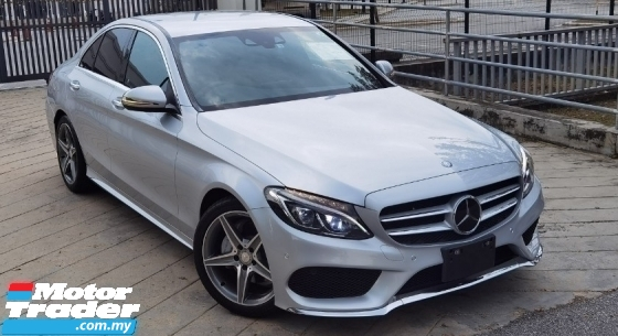 2016 MERCEDES-BENZ C-CLASS 2016 MERCEDES C180 1.6 AMG SPEC ORIGINAL FROM JAPAN UNREG CAR SELLING PRICE ( RM 176000.00 NEGO )