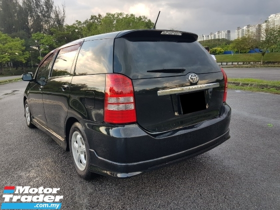 2005 TOYOTA WISH 1.8 G SUNROOF/ REVERSE CAMERA/ CASH DEAL ONLY