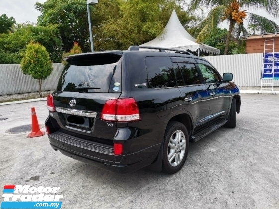 2011 TOYOTA LAND CRUISER 2011-2013 ZX URJ200W 60th Anniversary Full Spec* Genuine Mileage* Excellent Condition. Prado Hilux