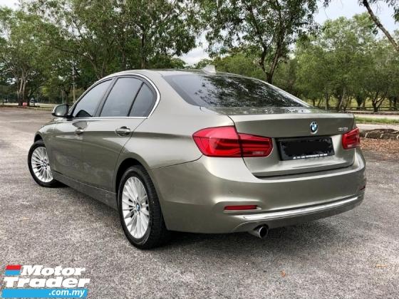 2016 BMW 3 SERIES 318I 1.5 TURBO LUXURY F30 LCI FL CKD LOCAL