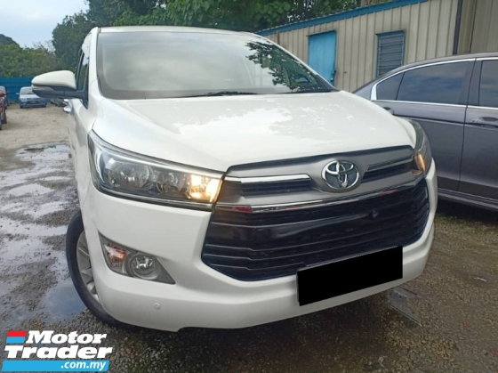 2016 TOYOTA INNOVA 2.0 G SHOWROOM CONDITION FAST LOAN PROCESS