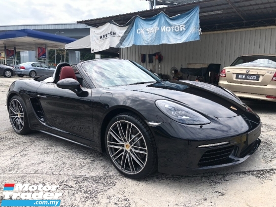 2017 PORSCHE 718 Boxster Convertible 2.0 Turbo 300hp Keyless Entry Memory Electrical Bucket Seat LED Headlamp PCM