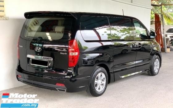 2014 HYUNDAI GRAND STAREX 2.5 (A) Royale Premium Luxury Model