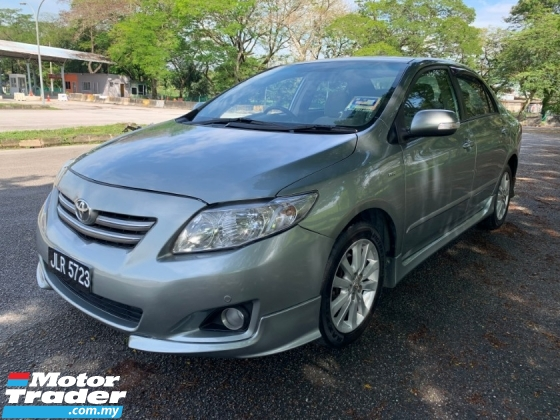 2010 TOYOTA COROLLA ALTIS 1.8 (A) 1 Owner till Now Only TipTop Condition