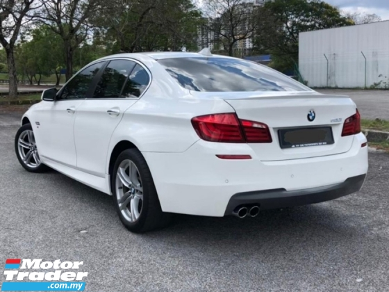2012 BMW 5 SERIES 520I 2.0 F10 M-SPORT NAPPA SEAT CKD LOCAL TURBO