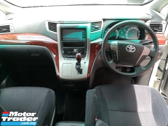 2011 TOYOTA VELLFIRE 2.4 Z Spec 8 Seaters Black color fabric ((( FREE 2 YEARS WARRANTY ))) 2015