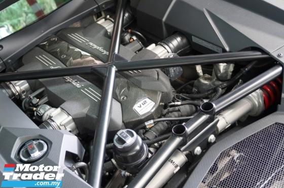 2017 LAMBORGHINI AVENTADOR S LP 740-4 S ISR 4WD CARBON PACK LOUD EXHAUST SALE