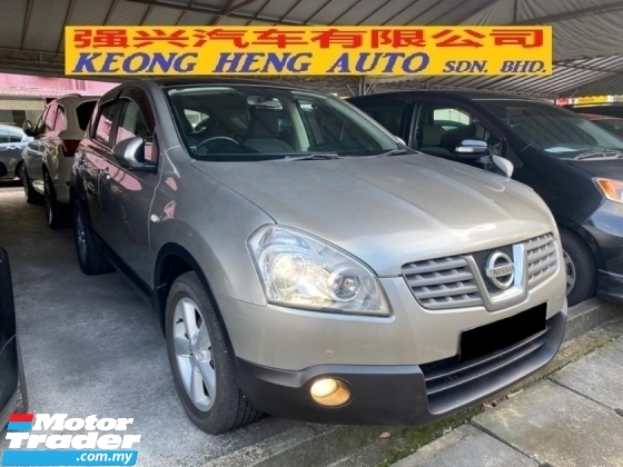 2007 NISSAN DUALIS 2.0 (A) Panaromic Roof Keyless Go Registered 2010