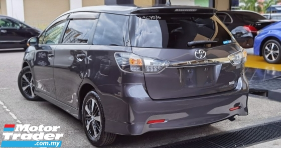 2016 TOYOTA WISH 2016 TOYOTA WISH 1.8 S JAPAN SPEC CAR SELLING PRICE ONLY ( RM 116,000.00 NEGO ) GREY COLOR ( 29675 )