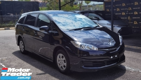 2017 TOYOTA WISH 2017 TOYOTA WISH 1.8 X JAPAN SPEC CAR SELLING PRICE ONLY ( RM 93800.00 NEGO )