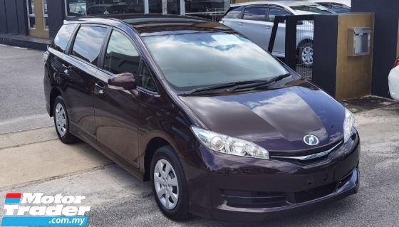 2017 TOYOTA WISH 2016 TOYOTA WISH 1.8 X JAPAN SPEC CAR SELLING PRICE ONLY ( RM 95,800.00 NEGO ) PURPLE COLOR ( 13193