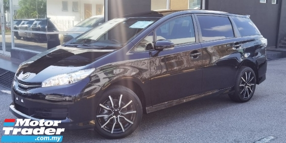 2017 TOYOTA WISH 2017 TOYOTA WISH 1.8 X JAPAN SPEC CAR SELLING PRICE ONLY ( RM 95,800.00 NEGO )