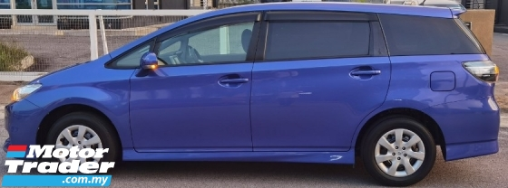 2017 TOYOTA WISH 2017 TOYOTA WISH 1.8 X JAPAN SPEC CAR SELLING PRICE ONLY ( RM 89,900.00 NEGO ) BLUE COLOR (37931 )