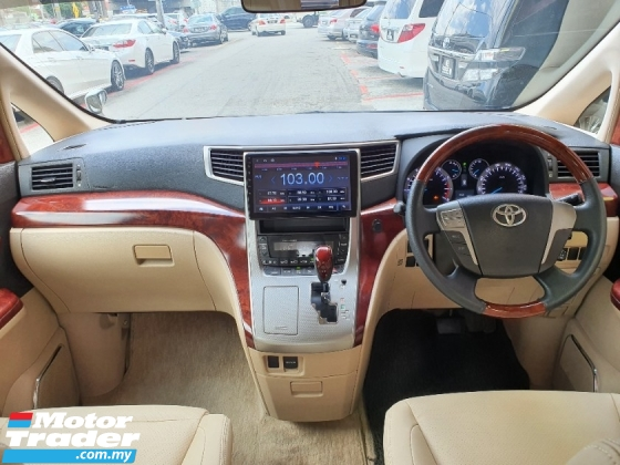 2011 TOYOTA ALPHARD 350G L PACKAGE *2 Years GMR Warranty* 1 Owner