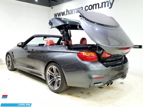 2016 BMW M4 3.0 CONVERTIBLE UNREG RED LEATHER