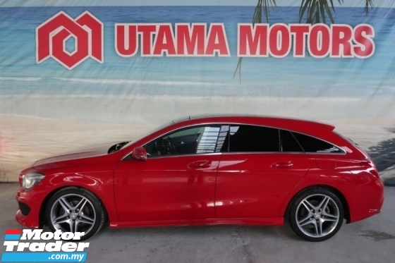 2016 MERCEDES-BENZ CLA 180 AMG WAGON SUNROOF ELECTRIC SEATS RAYA SALE