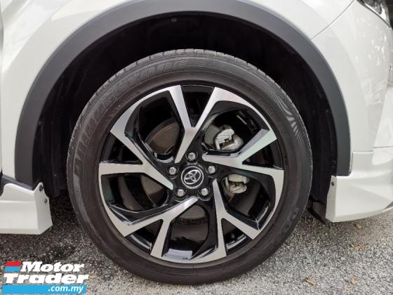 2017 TOYOTA C-HR 1.2 GT Turbo Modelista Bodykit PCS LKA BSM Unreg