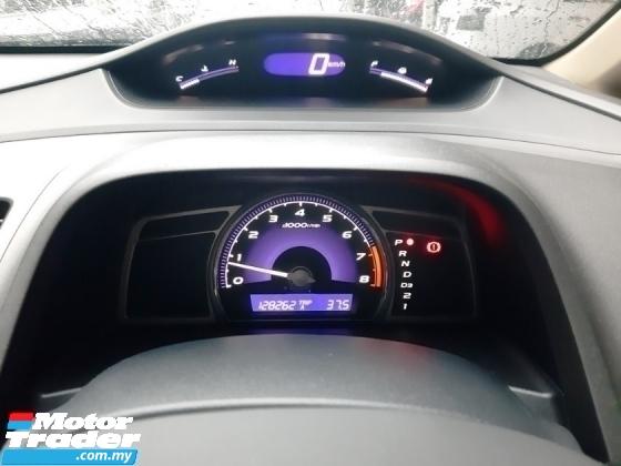 2011 HONDA CIVIC 1.8 i-VTEC (A) NEW PAINT F/C RECORD LEATHER SEAT