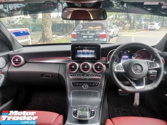 2016 MERCEDES-BENZ C-CLASS Mercedes Benz C250 AMG LINE CKD 2.0 (A) 1 OWNER